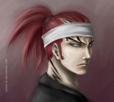 Bleach - Renji by laufeyja