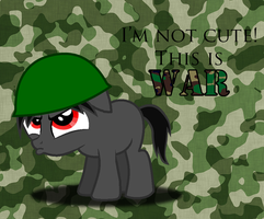 Im Not Cute! This Is WAR! by Ellis02