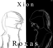 Xion and Roxas Best Friends by PhantomDragon62