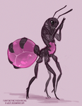 brave intrepid space ant by VCR-WOLFE