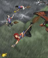 Chased by the thunder by just-sora