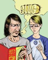 SLUG magazing LGTU cover by davechisholm