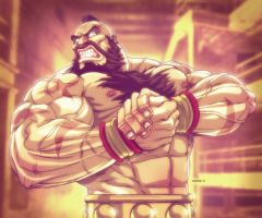 Zangief Flex - Street Fighter by EddieHolly