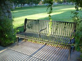 Park Bench by abuseofstock