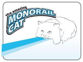 monorail cat by serealis