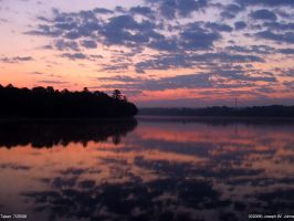 Langley Pond 7-25-09-2 by Joseph-W-Johns
