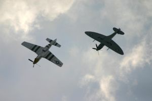 OFMC spitfire and p51D 3 by Sceptre63