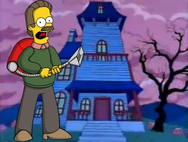 Flanders' Mansion by mariobros123