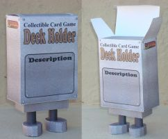 CCG Deck Holder Papertoy by Sinner-PWA