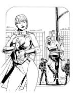 Power Girl by AssisEzequiel