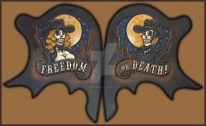 Freedom or Death Chap Hips by ElVaqueroMuerto