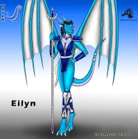 E. Dragoness Warrior - Eilyn by Dragon-Rage2
