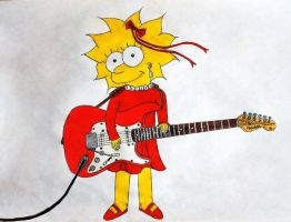 Lisa guitarist by GladiatorRomanus