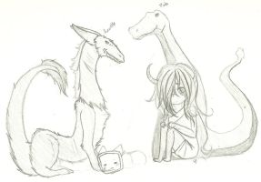 siders and his pets / wip / by Trouser-Snake