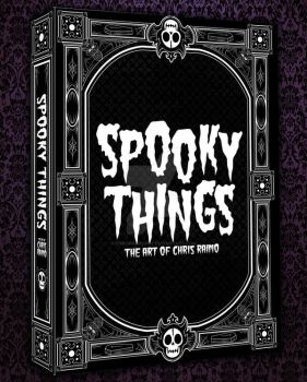 Spooky Things on Kickstarter! by chrisraimoart