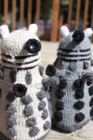 One Dalek, Two Dalek... by bandotaku