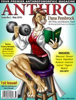 ANTHRO MAGAZINE NUMBER 1 by Eggplantm
