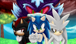 Sonic Shadow n' Silver Our history by JustASonicFan