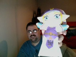 Zelda plush by TheHylianHaunter