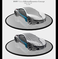 BMW Vision Efficient Concept by Eowynu