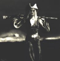 girl with the musket by caastel