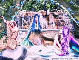 mermaids paradise (updated) by Lolita-Artz