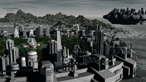 Two Cities by TLBKlaus
