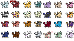 Cat Adopts | 28/28 by Silly-Adopts