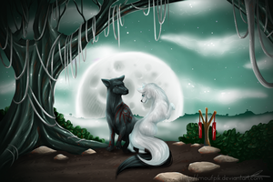 Under the Moon by Moufpik