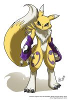 Renamon pose by yuski
