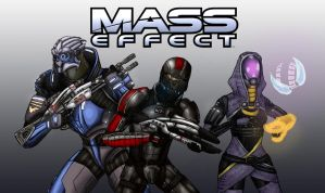 Mass Effect by SebWoodland