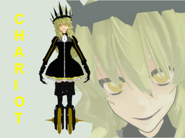 MMD Chariot of Black Rock Shooter NEWCOMER by M0fD