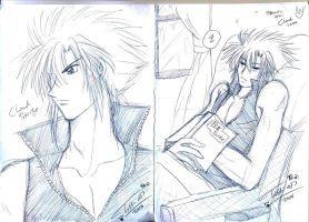 Cloud Sama +sketch+ by Tc-Chan