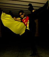Young Justice Robin Roundhouse by RodneyJGPhotos