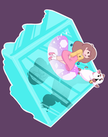 Bee and Puppycat (Tee Design Contest Entry) by Yanguchitzure