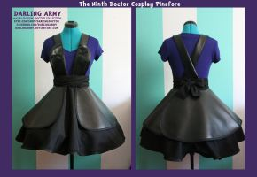 Ninth Doctor -Chris Eccleston- Cosplay Pinafore by DarlingArmy