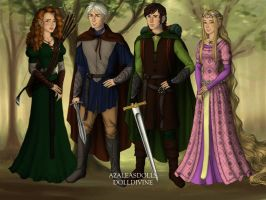 The Big Four: Lord of the Rings by evenstar29