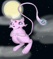 Buttoneye as Mew by Fangy-From-Shadow