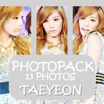 Taeyeon | PhotoPack 1 by TiffanyStevens