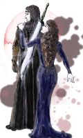 Morghiad and Dorinna by HOCHarles