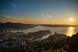 City of the Setting Sun by MGawronski