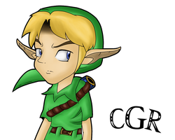 Young Link :Complete: by CortexgalReturns
