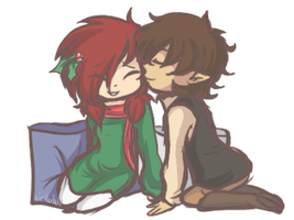 Cozy Kisses by Linkerbell