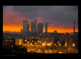 Moscow city by Sv-Batalina