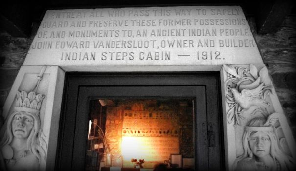 'Indian Steps' Entrance by swim2birds