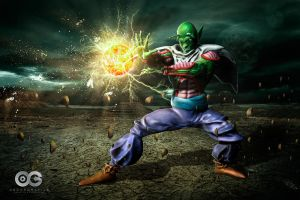 Dragon Ball. Piccolo by oscargrafias