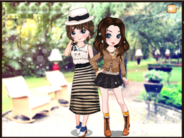 Girly gentle Dressup - Dressup24h.com by willbeyou