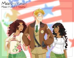 .:APH:. The OT3 by kamillyanna