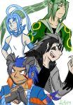 My Old Emerald Team by Hawkfire45