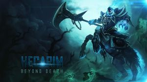 Hecarim league of legends by mex8